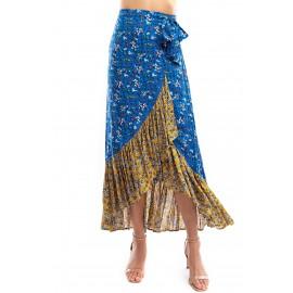 Gar n Mix Wrap Skirt