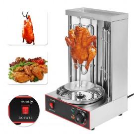 110V Electric Kebab Shawarma Gyros Machine Turkish Barbecue Machine Food Machine