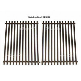 2 pc Stainless Steel Cooking Barbecue Grid for Weber Grates Spirit Genesis Model