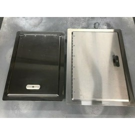 2 Stainless Steel Grill Doors (21