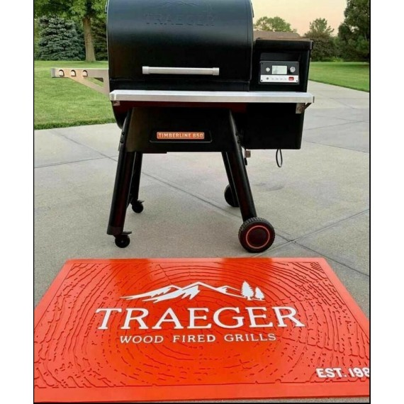Orange Traeger Mat Large Heavy Duty For Smoker Grill Brand New! FAST SHIP 4 XMAS