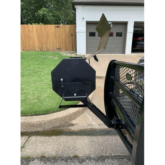 Table Top Grill With Reciever Hitch Mount
