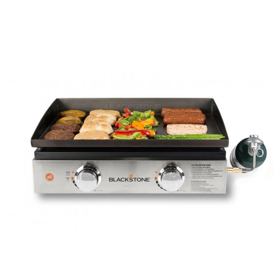 Blackstone Tabletop Grill - 22 Inch Portable Gas Griddle - Propane Fueled