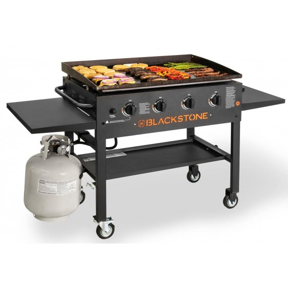 Blackstone 36 In Griddle Cooking Station 4 Burner Backyard Propane Gas Grill