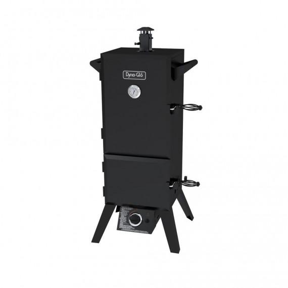 Vertical Double Door Propane Gas Smoker