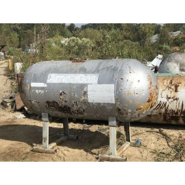 250 Gallon Propane Tank BBQ Smoker on a Tank In Photos