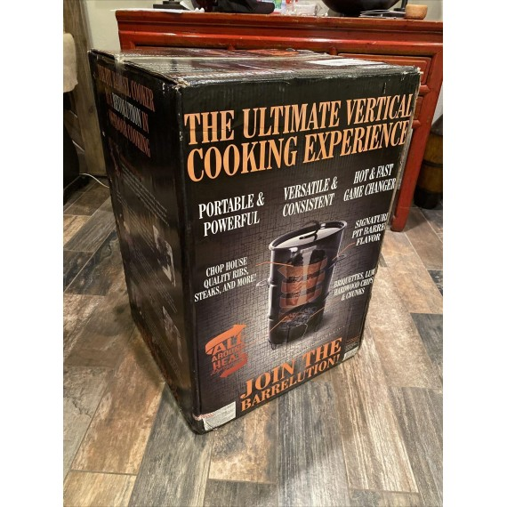 Original Authentic Pit Barrel Cooker Brand New In Box