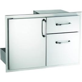 American Outdoor Grill 30-inch Access Door & Double Drawer Combo