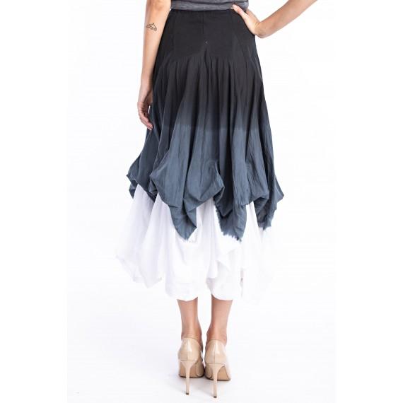 Tricolor Storm  icku  Skirt