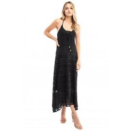 Tiered Crochet Dress